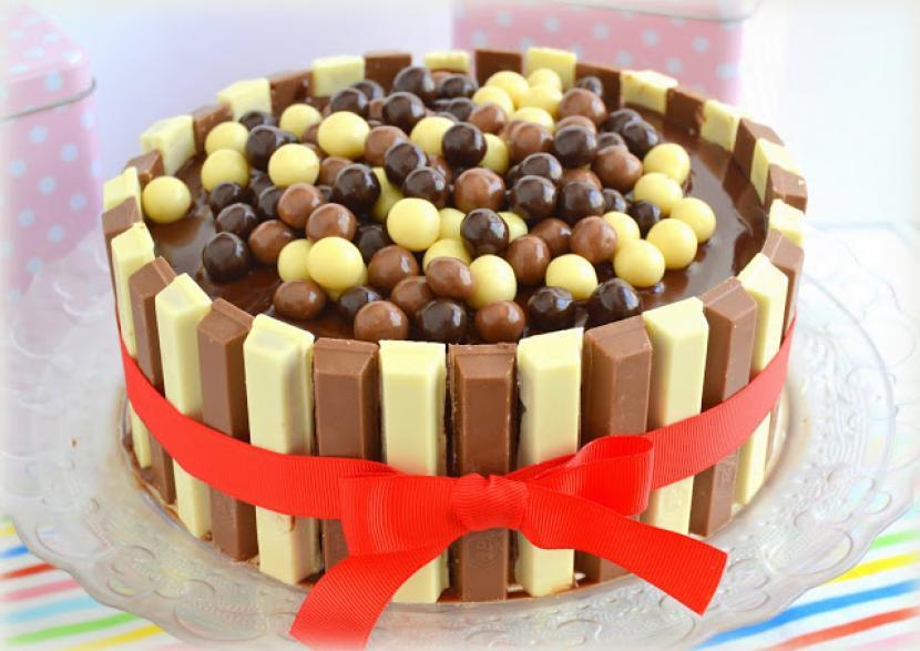Image Result For Receta De Tarta C De Galletas Con Crema Y Chocolate